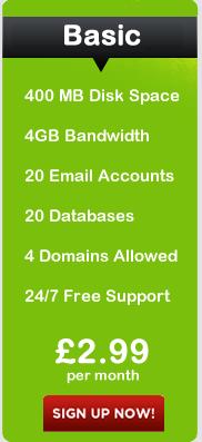 Basic Hosting Package